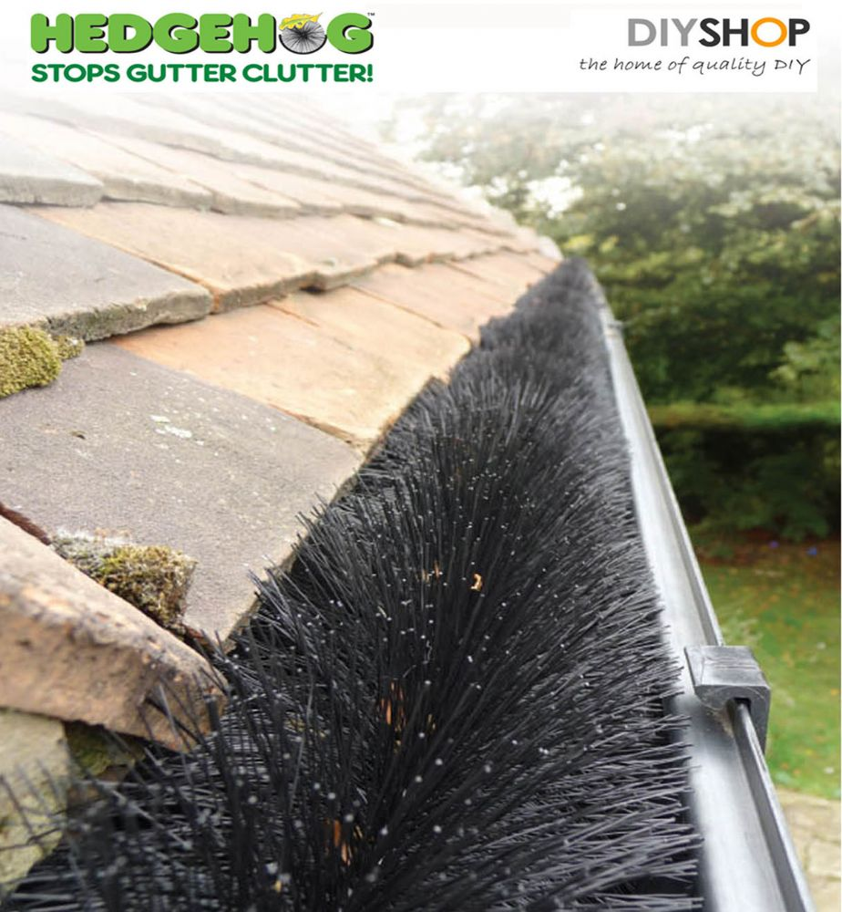 Gutter Guard - Hedgehog Gutter Guard - Gutter ...